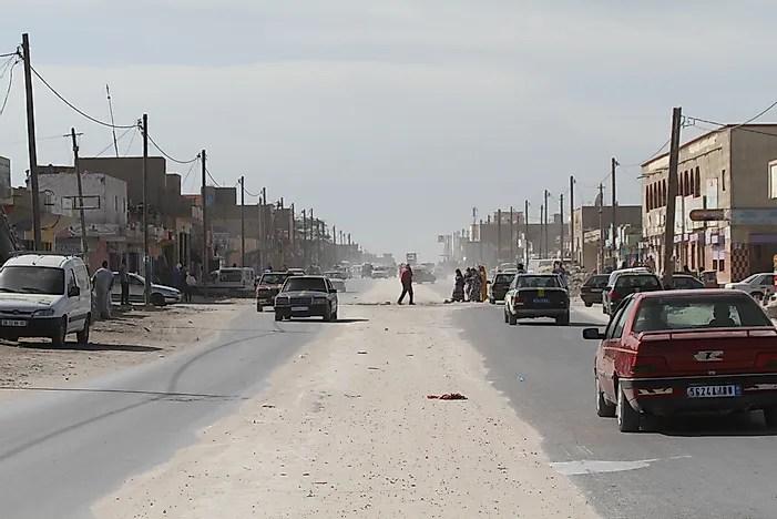 A falta de oportunidade econômica contribuiu para a baixa classificação da Mauritânia.