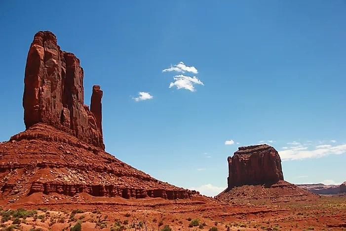 What Is A Butte In Geography  WorldAtlascom