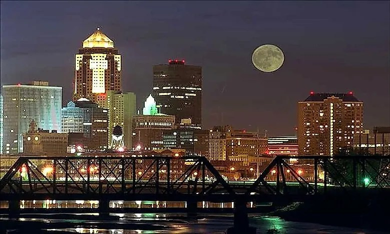 Biggest Cities In Iowa  WorldAtlascom