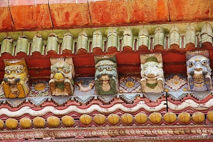 Changu Narayan Temple, the oldest of its kind in Nepal.