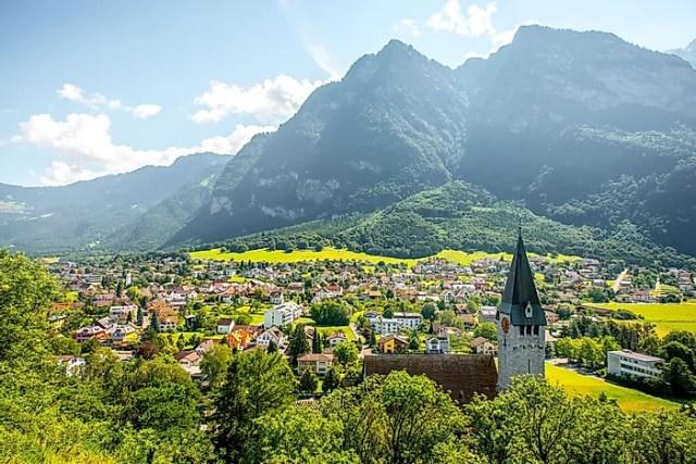 #4 Liechtenstein - 160 sq km