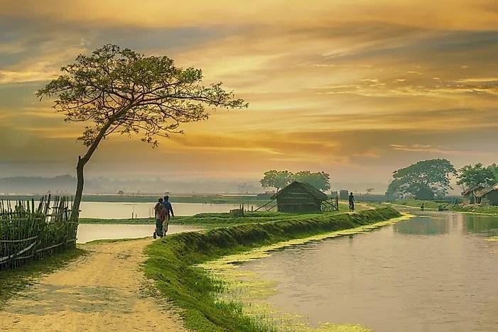 # 5 Bangladesh - 163 milhões