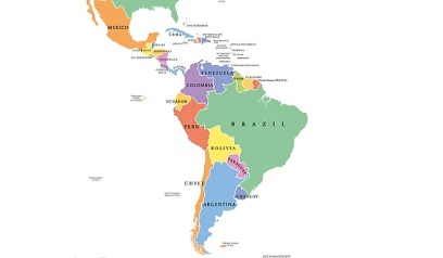 a map of Latin America