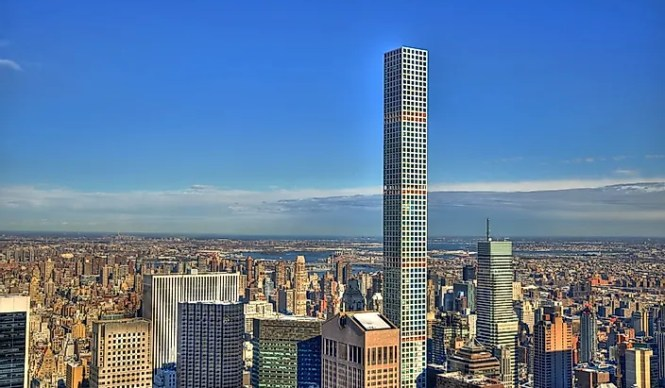 Completed In 2017 432 Park Avenue New York Is The Tallest Residential Building World Initially Skyser Was Proposed To Have A Height Of