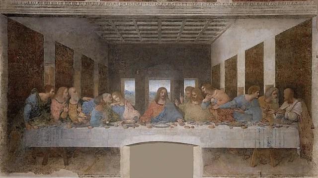 #2 The Last Supper (Santa Maria Delle Grazie Monastery, Milan)