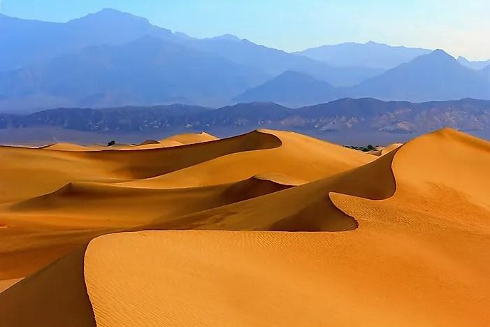 Types of Sand Dunes  WorldAtlascom