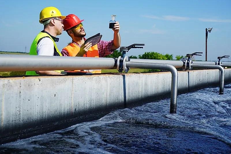 Trabalhadores nº 1 de águas residuais e estações de tratamento de água