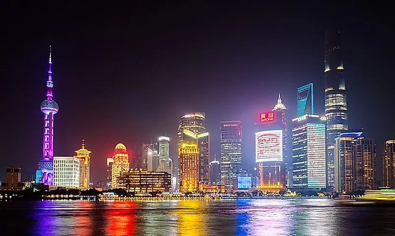 # 6 Xangai, China -