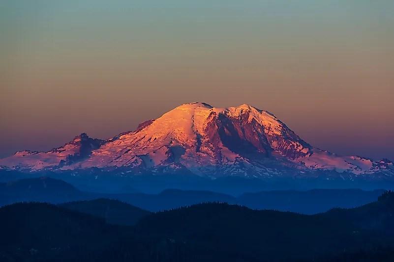 Parque nacional do Monte Rainier, Washington.
