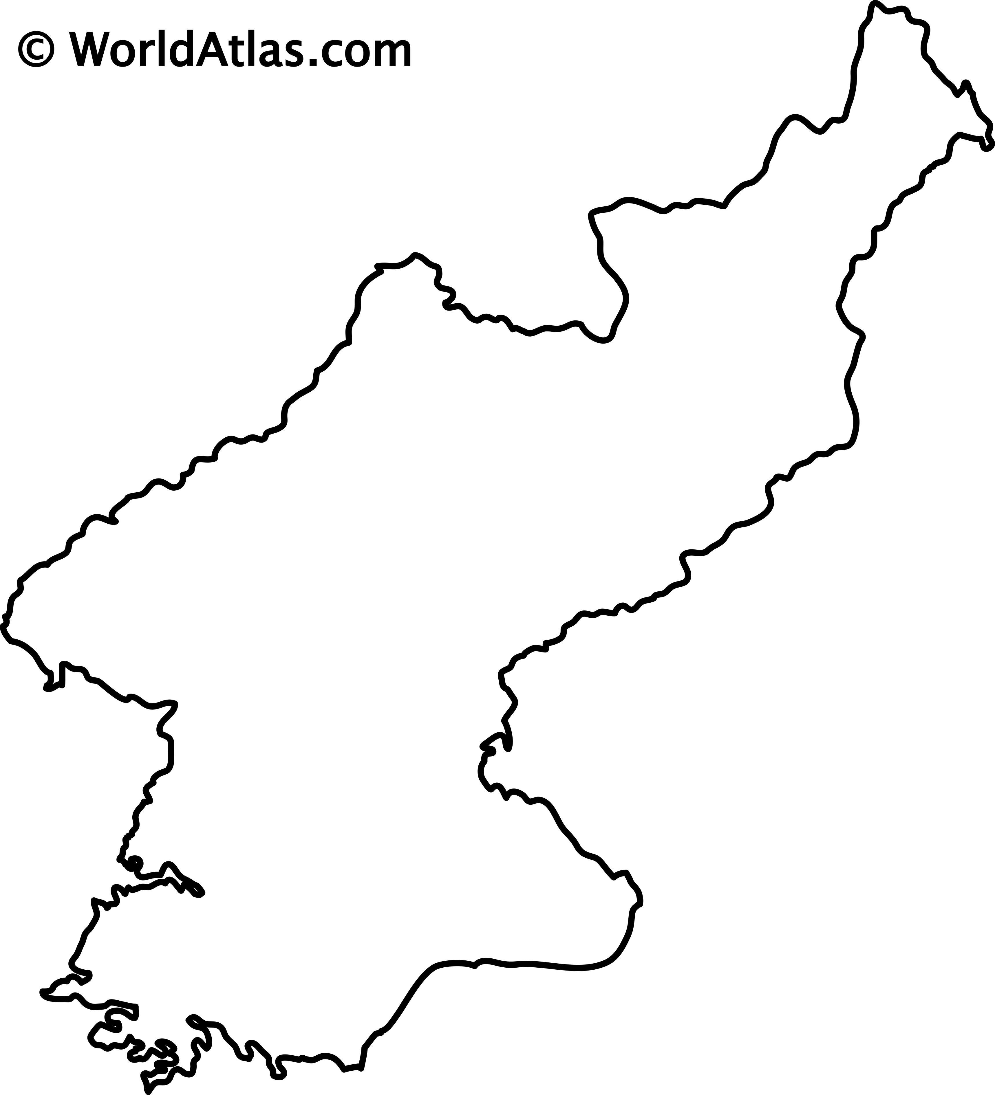North Korea Maps Facts World Atlas