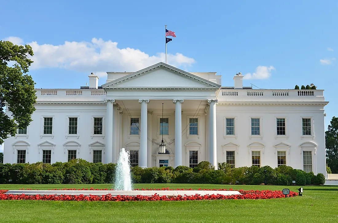 How Many Bathrooms Are In The White House Worldatlas