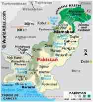 Pakistan Maps Facts World Atlas