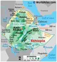 Ethiopia Maps Facts World Atlas