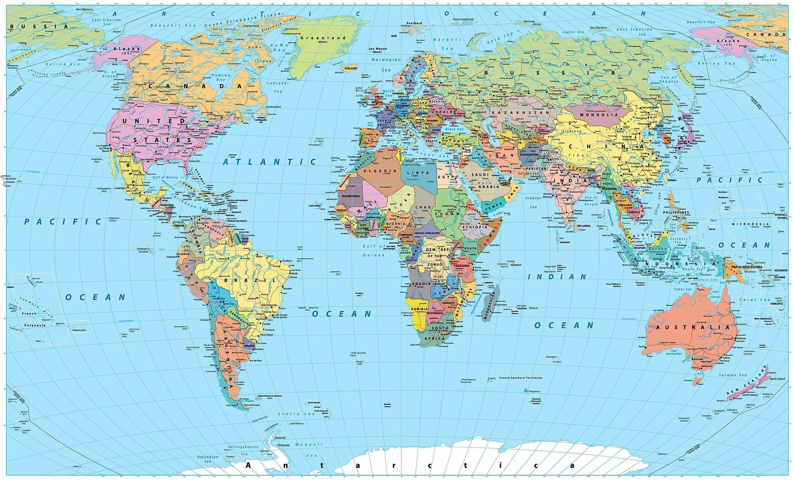 What Are The Different Types Of Maps