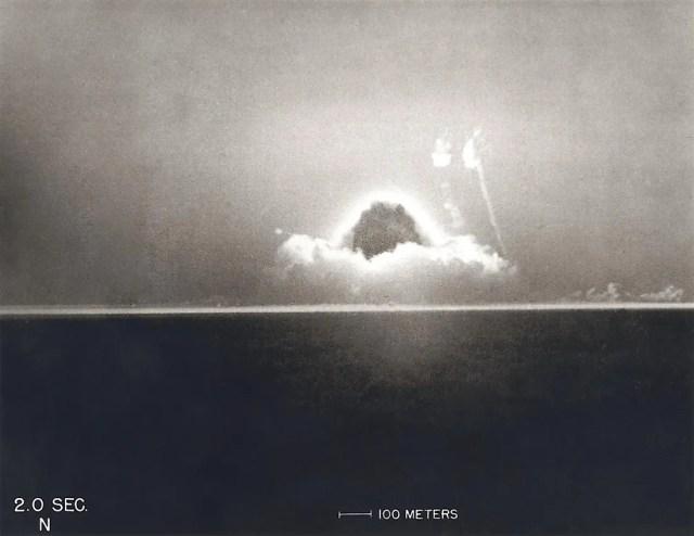 A Explosão da Trindade, a primeira detonação atômica do mundo.