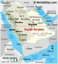 Saudi Arabia Maps Facts World Atlas