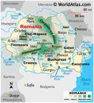 Romania Maps Facts World Atlas