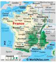 France Maps Facts World Atlas