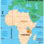 Tanzania Maps Facts World Atlas