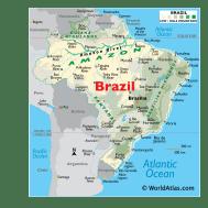 Brazil Maps Facts World Atlas