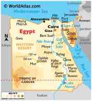 Egypt Maps Facts World Atlas