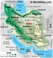 Iran Maps Facts World Atlas