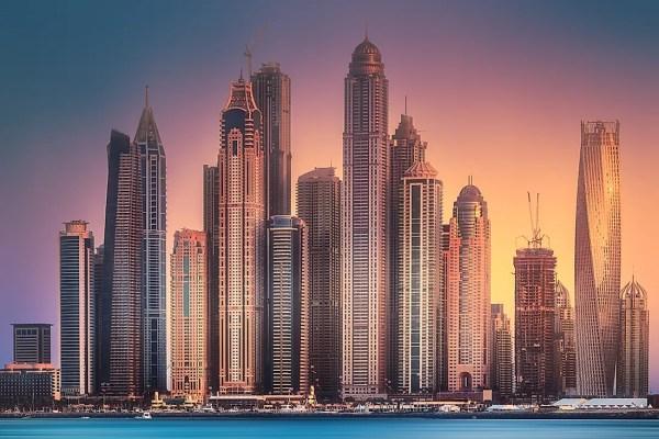 The Seven Emirates of the UAE WorldAtlascom
