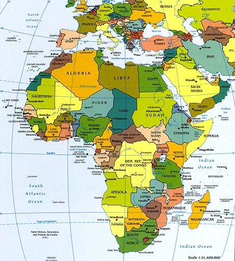 Africa Map Map of Africa Worldatlascom
