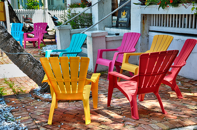 key west chairs school desks and photos of florida map world atlas porch view