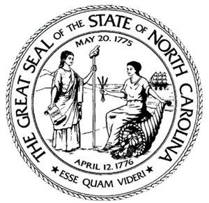 North Carolina Flag and Description and North Carolina Seal