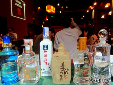 GT Baijiu Photo of a 2013 Baijiu Tasting Organized in Shanghai by Derek Sandhaus