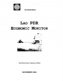Lao PDR Economic Monitor Reports