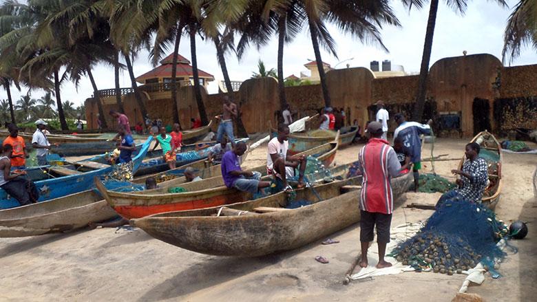 New Fishing Site Terminal in Liberia Brings Better Fish