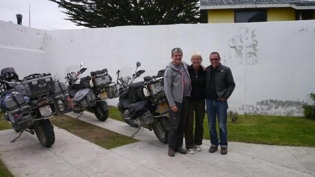 mit Branko und Ingrid in Punta Arenas