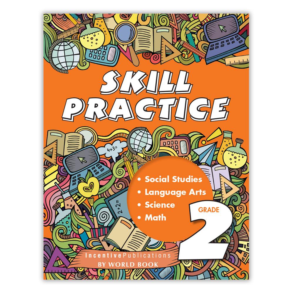 Skill Practice Grade 2   World Book [ 1000 x 1000 Pixel ]