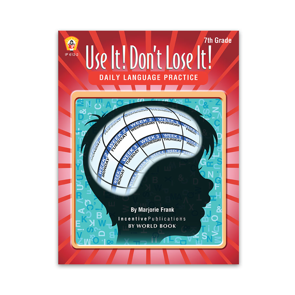 Daily Language Practice Grade 7: Use It! Don't Lose It!   World Book [ 1000 x 1000 Pixel ]