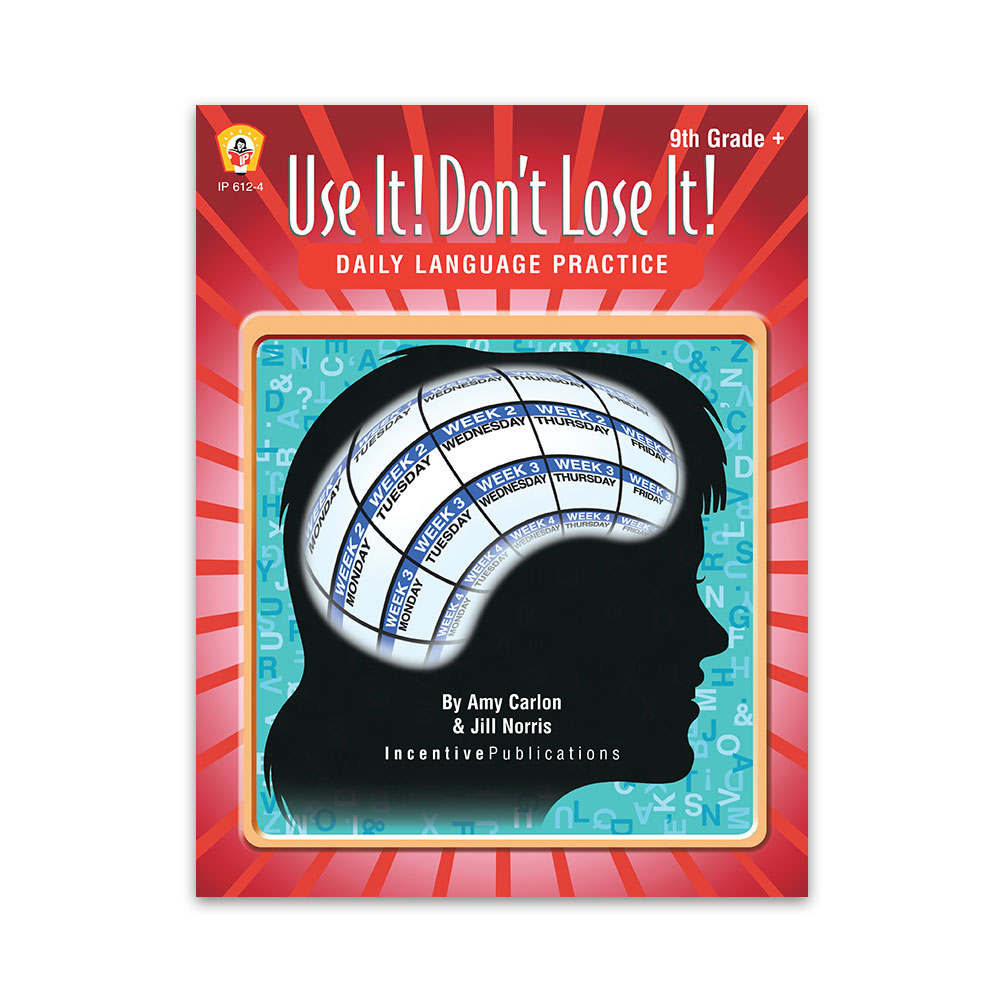 Daily Language Practice 9th Grade +: Use It! Don't Lose It!   World Book [ 1000 x 1000 Pixel ]