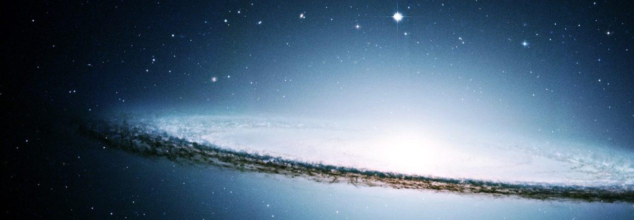 Sombrero Galaxy Merkaba