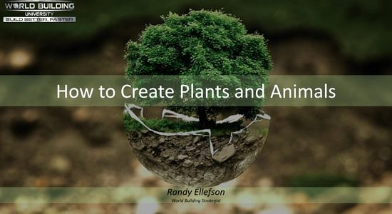 Plants and Animals Title Page
