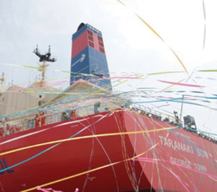 MAN Diesel & Turbo delivered low flashpoint supply systems for the world's first methanol-fuelled tankers