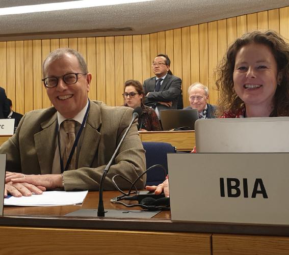 IPIECA's-Eddy-Van-Bouwel-and-IBIA's-Unni-Einemo-at-MEPC-74