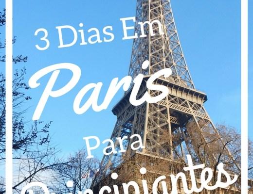 3 dias em paris