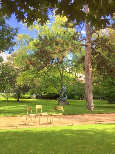 Luxembourg Garden, oasis of peace