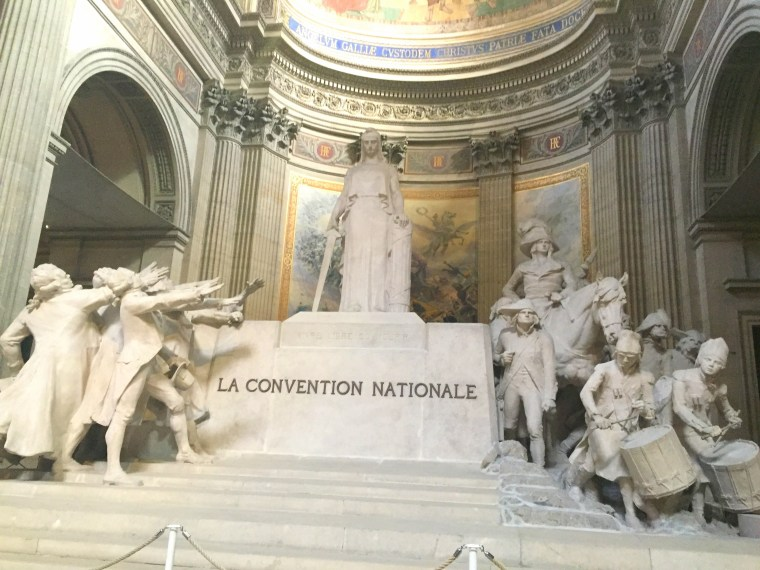 Convention Nationale Pantheon Paris
