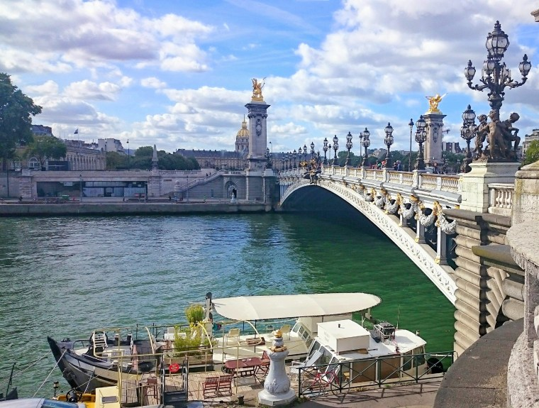 Most Aleksandra III w Paryżu