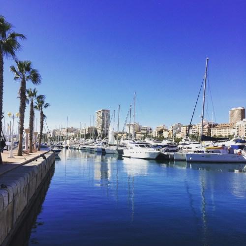 Alicante port