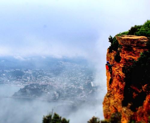 Climbing in Route des Cretes La Ciotat Cassis