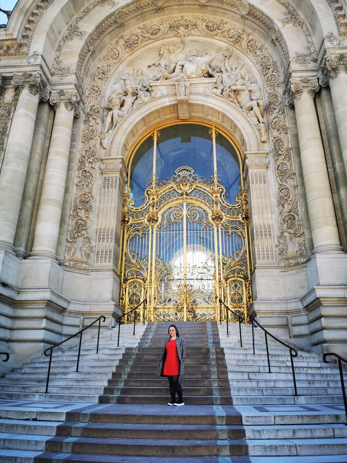 Petit Palais w Paryżu