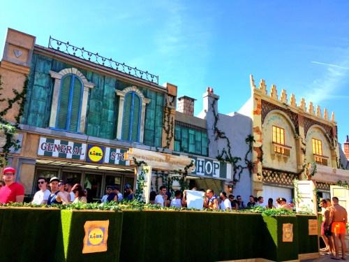 Lidl w miasteczku, Tomorrowland