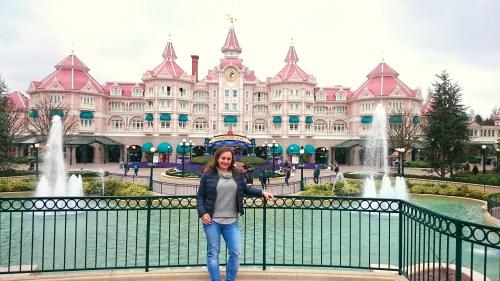 Wejście do Disneylandu koło Paryża